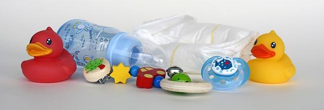 kojenecké hračky