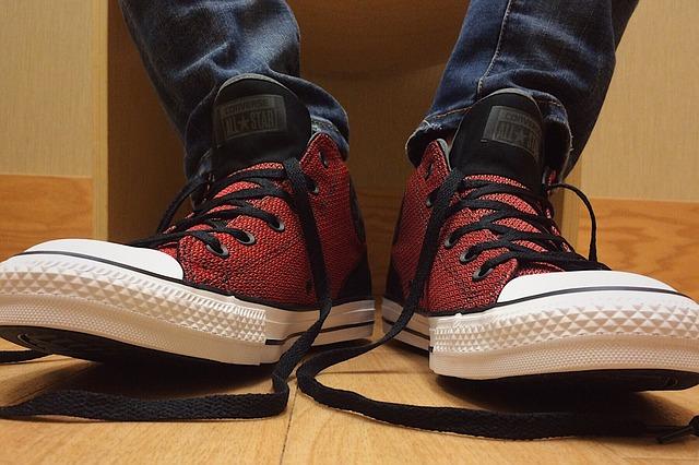 rozvázané boty