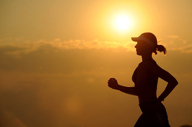 večení běhání
