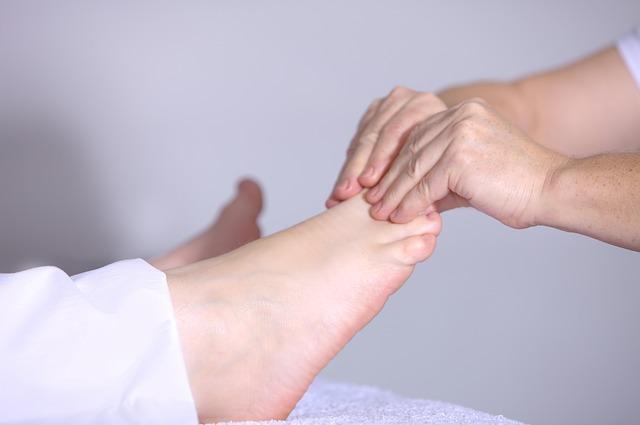 masáž prstů
